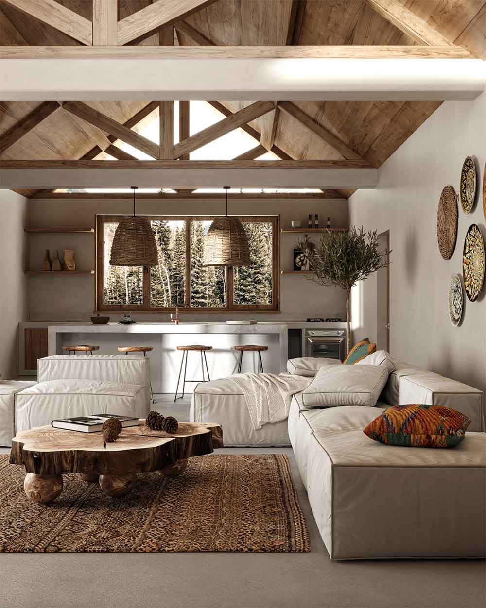 summer-home-decor-trends-natural-wood